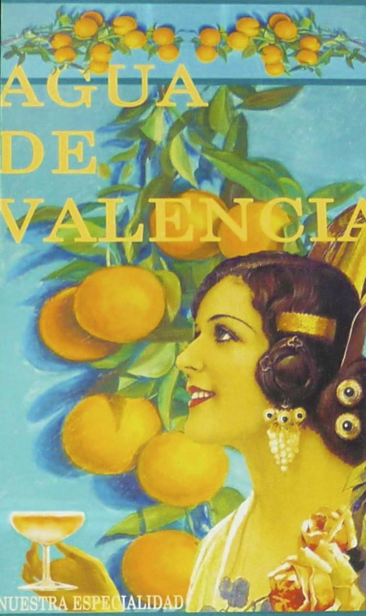 Poster for l'agua de Valencia