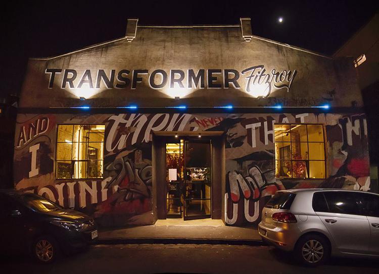 Façade du restaurant Transforme