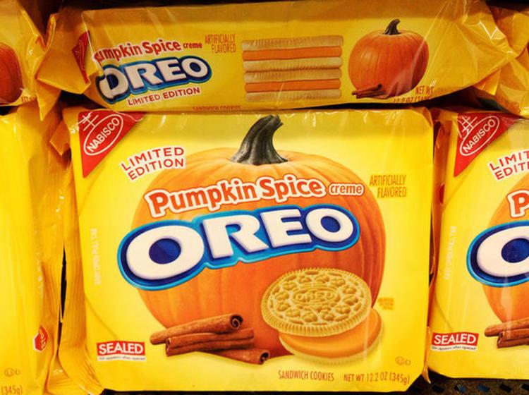 Des cookies Oreo au parfum citrouille