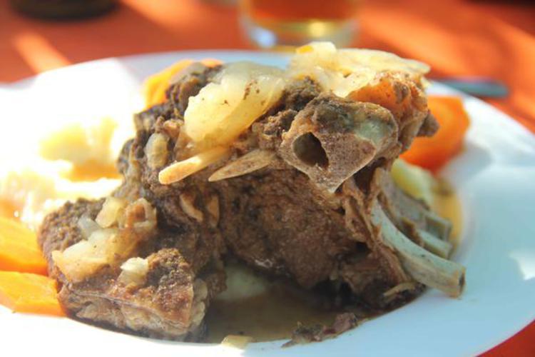 Sorte de boeuf bourguignon chilien